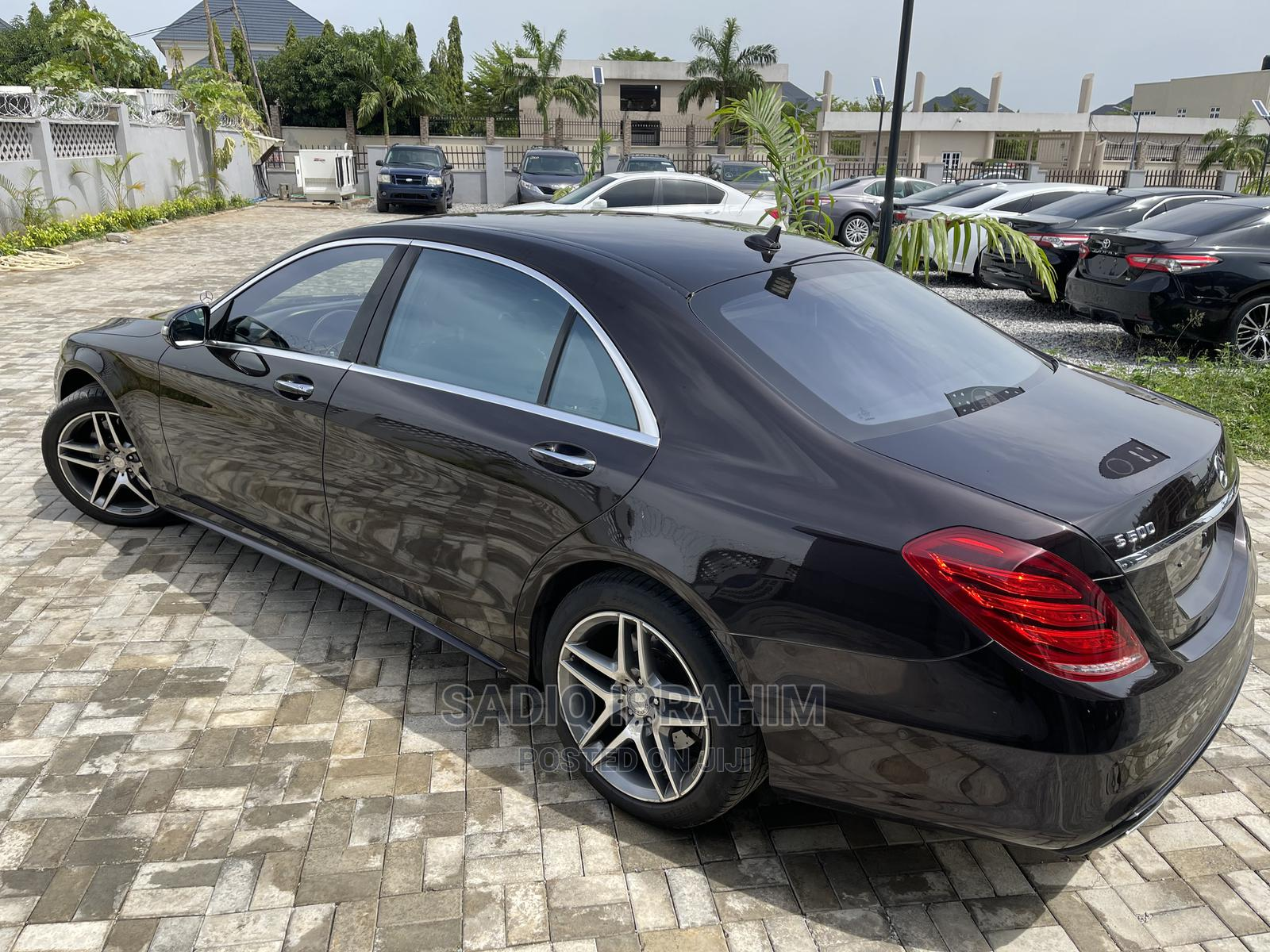 Mercedes-Benz S Class 2015 S 500 (W222) Brown   Cars for sale in Central Business District, Abuja (FCT) State, Nigeria