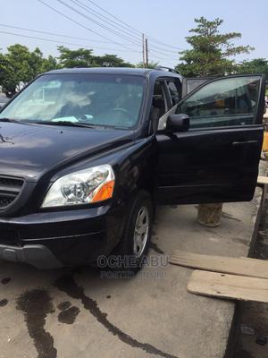 Honda Pilot 2004 EX-L 4x4 (3.5L 6cyl 5A) Black | Cars for sale in Lagos State, Ikoyi