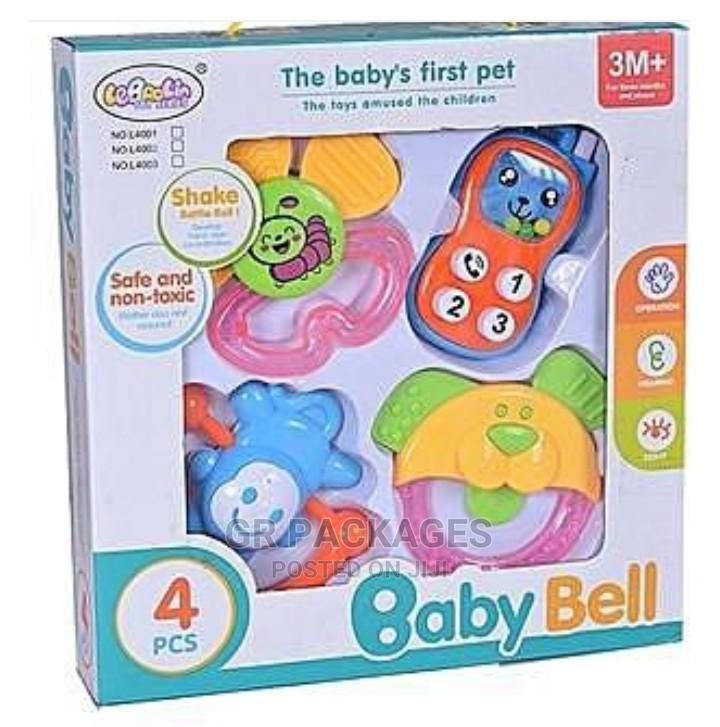 Archive: Baby Bell Rattle Set