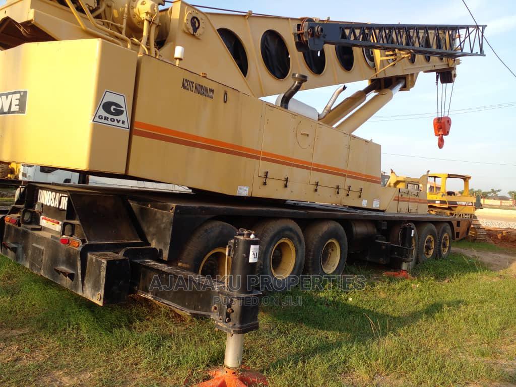 120tons Tokunbo Grove Crane at #160m Asking Price.