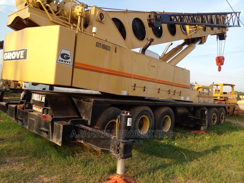120tons Tokunbo Grove Crane at #160m Asking Price. | Heavy Equipment for sale in Ojodu, Lagos State, Nigeria