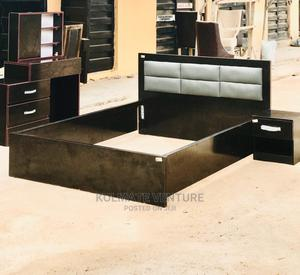 Classic 4 and Half Bed With Dressing Mirror.   Furniture for sale in Lagos State, Ikorodu