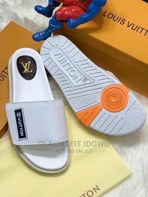 Luxury Original LV Slide On Available Now In Store   Shoes for sale in Lagos State, Lagos Island (Eko)