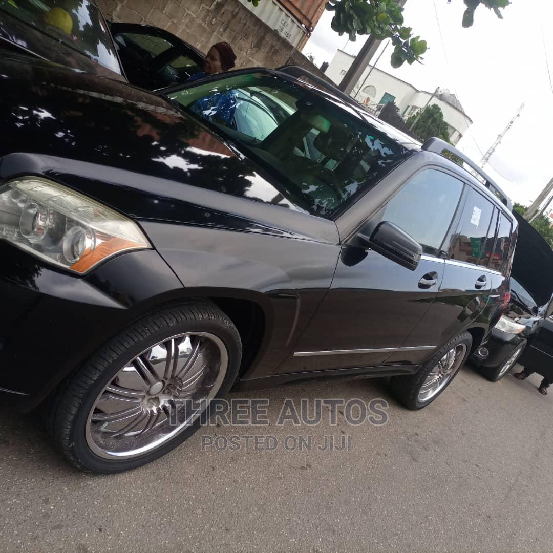 Mercedes-Benz GLK-Class 2011 350 4MATIC Black | Cars for sale in Ogba, Lagos State, Nigeria