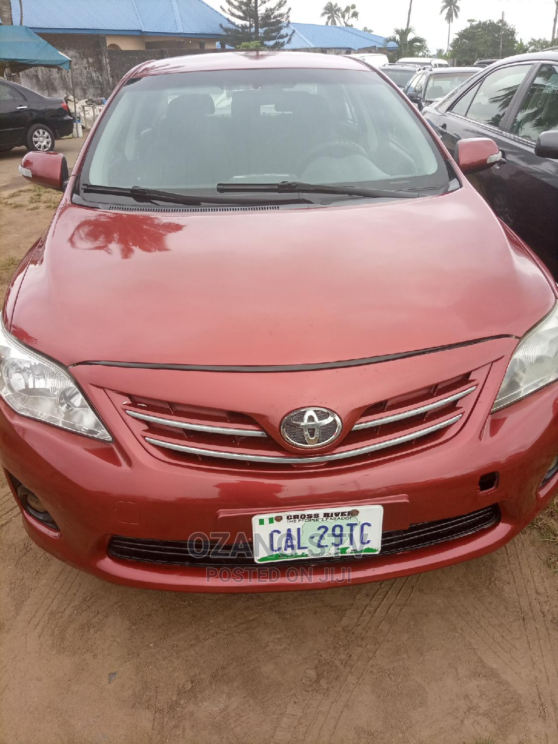 Toyota Corolla 2012 Red | Cars for sale in Calabar, Cross River State, Nigeria