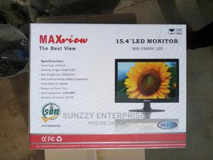 15 Inches Maxview Led Monitor   Computer Monitors for sale in Lagos State, Ikeja
