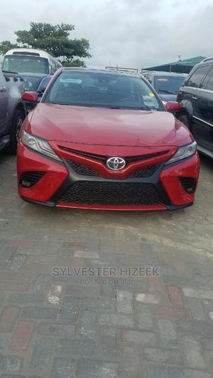 Toyota Camry 2019 XSE (2.5L 4cyl 8A) Red | Cars for sale in Lagos State, Lekki