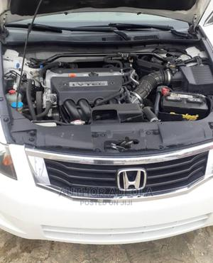 Honda Accord 2009 2.0 I-Vtec Automatic White   Cars for sale in Lagos State, Ikeja