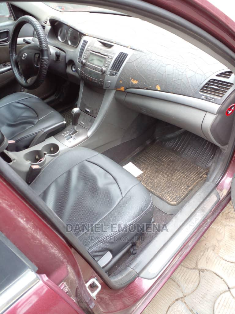 Hyundai Sonata 2010 Red | Cars for sale in Ikorodu, Lagos State, Nigeria