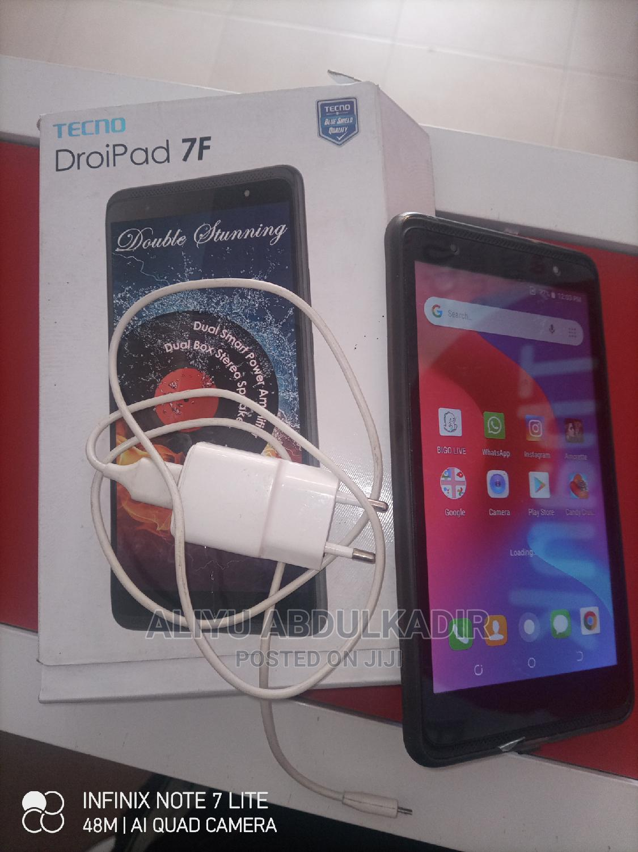 New Tecno DroiPad 7F 16 GB Black | Tablets for sale in Onitsha, Anambra State, Nigeria