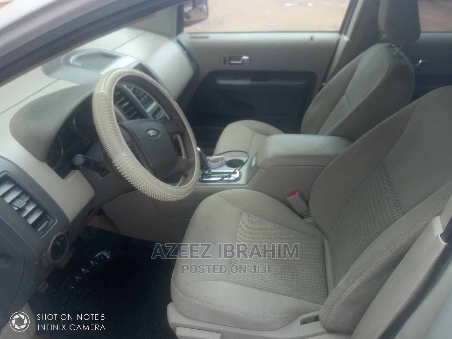 Ford Edge 2007 SE 4dr FWD (3.5L 6cyl 6A) White | Cars for sale in Abule Egba, Lagos State, Nigeria
