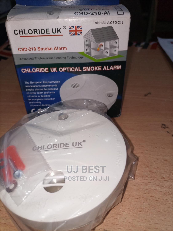 Archive: Wireless Optical Smoke Alarm Detector