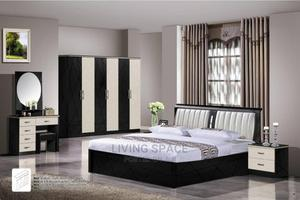 Complete Bed 6by7 Size With 6 Doors Wardrobe Full Set   Furniture for sale in Lagos State, Ajah
