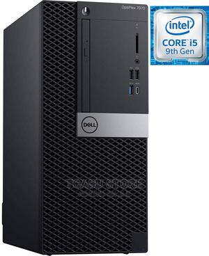New Desktop Computer Dell OptiPlex 7070 8GB Intel Core I5 HDD 1T   Laptops & Computers for sale in Lagos State, Ikeja