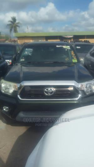 Toyota Tacoma 2012 Double Cab V6 Green | Cars for sale in Lagos State, Isolo
