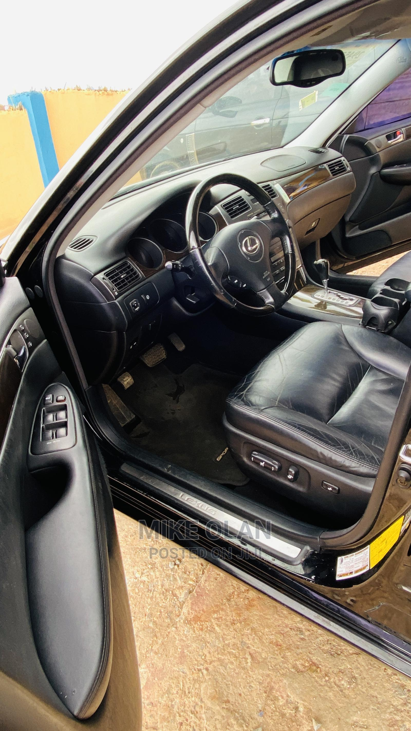 Lexus ES 2004 330 Sedan Black | Cars for sale in Ibadan, Oyo State, Nigeria