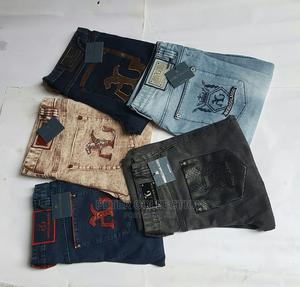 Classic Angelo Galasso Jeans Trousers   Clothing for sale in Lagos State, Lagos Island (Eko)