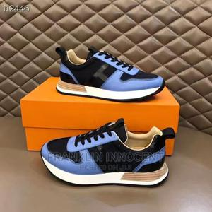 Very EXPENSIVE LUXURY HERMES From Paris Cowleather Sneaks   Shoes for sale in Lagos State, Lagos Island (Eko)