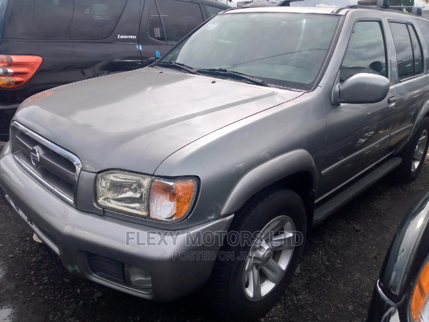 Archive: Nissan Pathfinder 2002 LE AWD SUV (3.5L 6cyl 4A) Silver