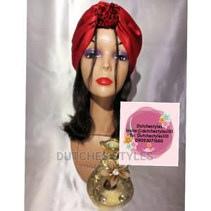 Red Silk Turban   Clothing Accessories for sale in Rivers State, Obio-Akpor
