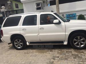 Cadillac Escalade 2004 White   Cars for sale in Lagos State, Ajah