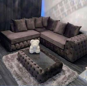 Sofa Chair With Center Table | Furniture for sale in Lagos State, Mushin