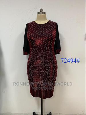 Elegant Classic Trendy Female Quality Stoned Turkey Gown   Clothing for sale in Lagos State, Ikeja