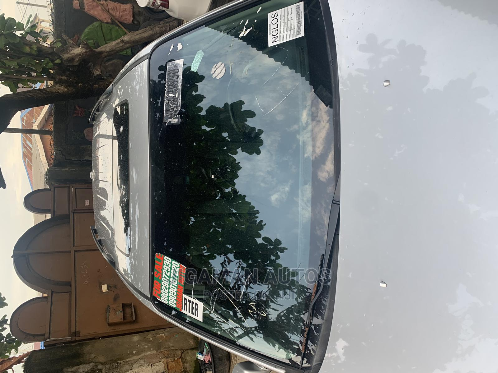 Honda Pilot 2008 EX 4x4 (3.5L 6cyl 5A) Silver | Cars for sale in Yaba, Lagos State, Nigeria