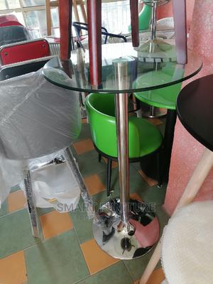 Strong Round Glass Bar Table | Furniture for sale in Lagos State, Lekki