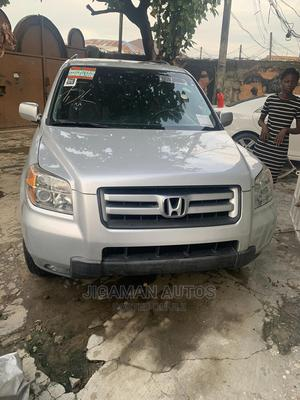 Honda Pilot 2008 EX 4x4 (3.5L 6cyl 5A) Silver | Cars for sale in Lagos State, Yaba
