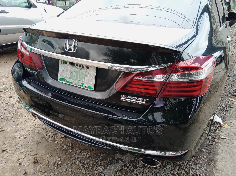 Honda Accord 2017 Black | Cars for sale in Surulere, Lagos State, Nigeria