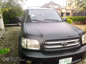 Toyota Sequoia 2003 Black   Cars for sale in Lagos State, Ikeja