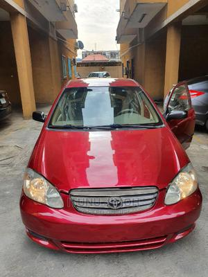 Toyota Corolla 2004 LE Red | Cars for sale in Lagos State, Lekki
