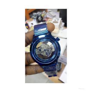 Blue Fashion Men Wristwatch   Watches for sale in Lagos State, Apapa
