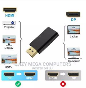 DP to HDMI Max 4K 60hz Displayport Adapter Male to Female   Computer Accessories  for sale in Lagos State, Lagos Island (Eko)