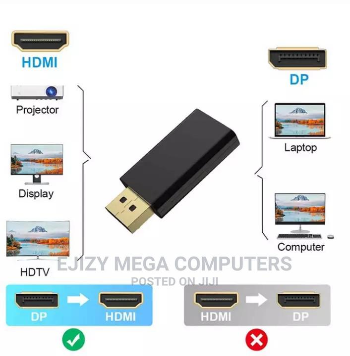 Archive: DP to HDMI Max 4K 60hz Displayport Adapter Male to Female