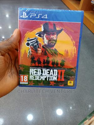 Red Dead Redemption Ii. For Ps4   Video Games for sale in Lagos State, Ikeja
