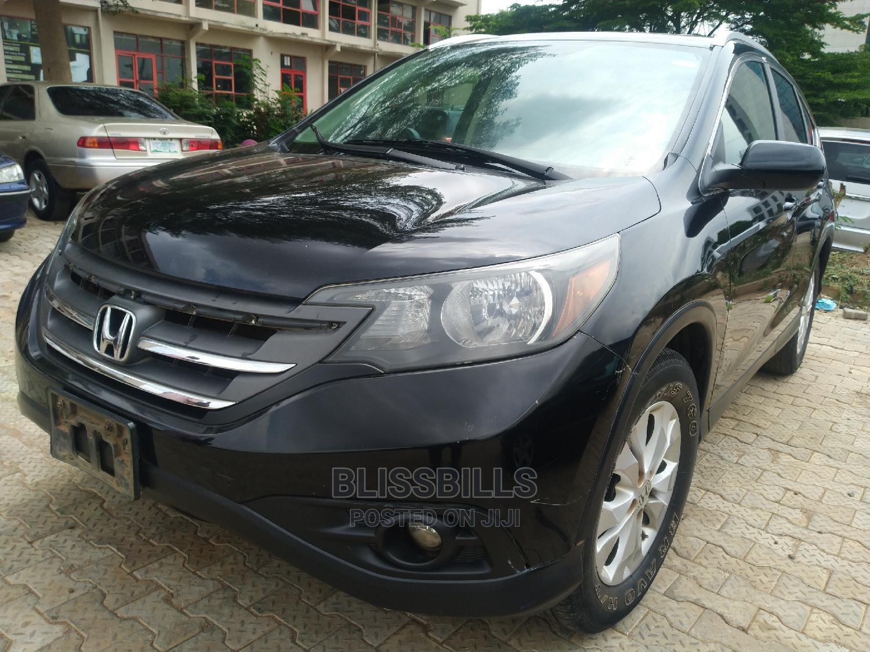 Honda CR-V 2012 Black   Cars for sale in Central Business District, Abuja (FCT) State, Nigeria