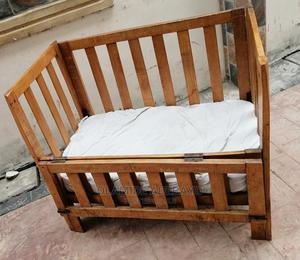 Baby Cot With Bed and Two Free Baby Carrier | Children's Furniture for sale in Lagos State, Ogba