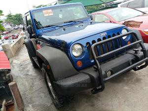 Jeep Wrangler 2010 Unlimited Sport Blue | Cars for sale in Lagos State, Amuwo-Odofin