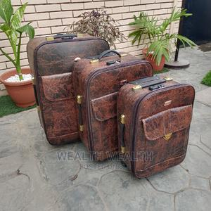 Executive Sets of Leather Luggage Bag for Sale   Bags for sale in Lagos State, Ikeja