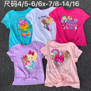 Girls Tops T-shirts Casual Wear Wholesale | Children's Clothing for sale in Lagos State, Ikorodu