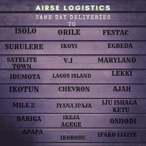 Courier Service (Pick Up And Delivery) | Logistics Services for sale in Lagos State, Lekki