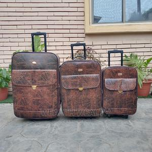 Executive Traveling Leather Leader Polo Luggage Bag   Bags for sale in Lagos State, Ikeja