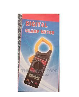 Digital Clamp Meter Multimeter AC DC Voltmeter | Measuring & Layout Tools for sale in Lagos State, Surulere