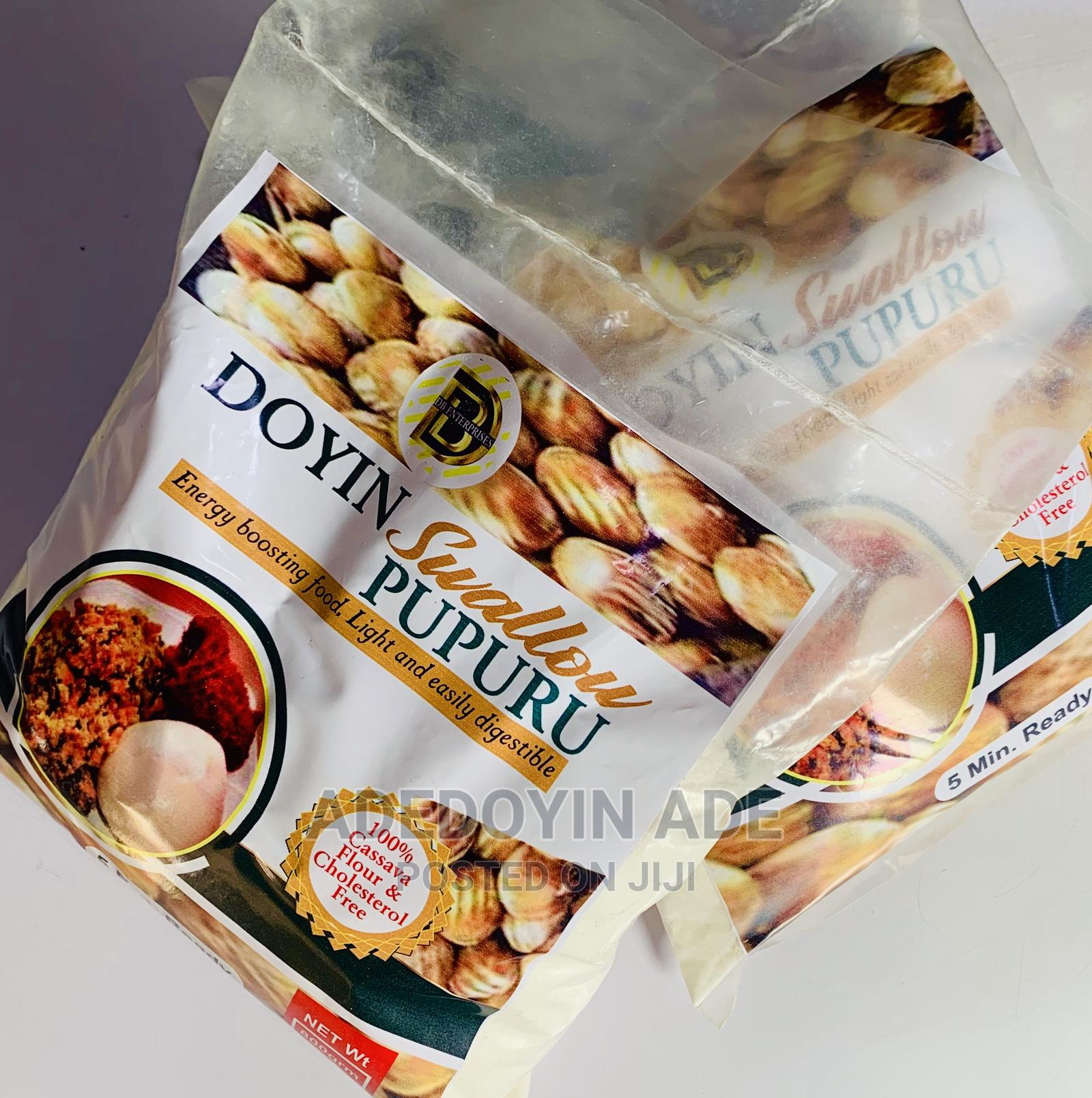 Archive: Doyin Swallow Pupuru Cassava Flour