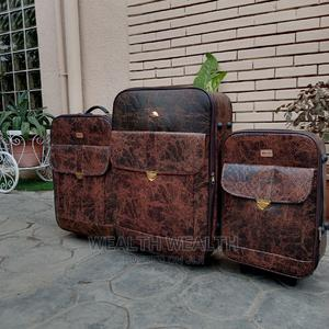 Quality Executive Trolley Leather Luggage Bag   Bags for sale in Lagos State, Ikeja