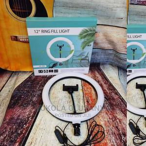 12 Inches Ring Light | Audio & Music Equipment for sale in Lagos State, Abule Egba