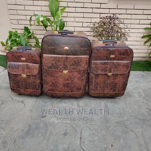 High Quality Executive Leather Luggage Bag   Bags for sale in Lagos State, Ikeja