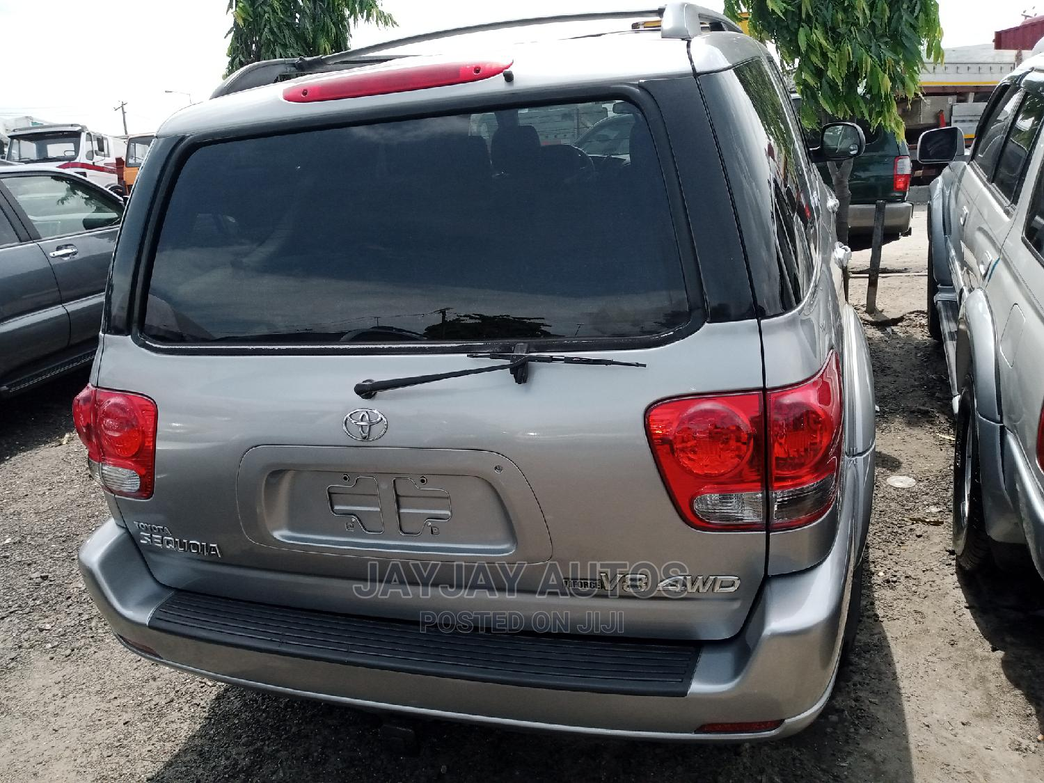 Toyota Sequoia 2007 Gray | Cars for sale in Apapa, Lagos State, Nigeria